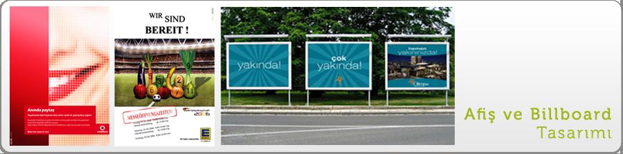 Afiş - Billboard Tasarımı