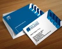 Mavi Mimarlık Kartvizit Tasarımı