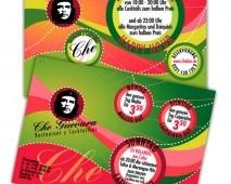 Che Restaurant Flyer Tasarımı