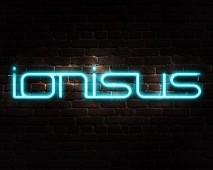 Ionisus Text Effect Neon Logo