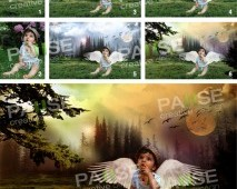 Angel Baby Manipülasyon (Before - After)