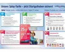 UnityMedia Broşür Tasarımı (Arka) - Almanya