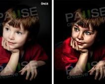 Çocuk İllüstrasyon (Before - After)
