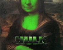 Hulk Film Afişi ve İllüstrasyon