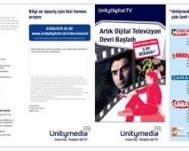 UnityMedia Broşür Tasarımı 2 (Ön) - Almanya