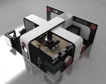3D Fuar Stand Tasarımı