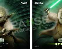 Star Wars Montaj (Before - After)